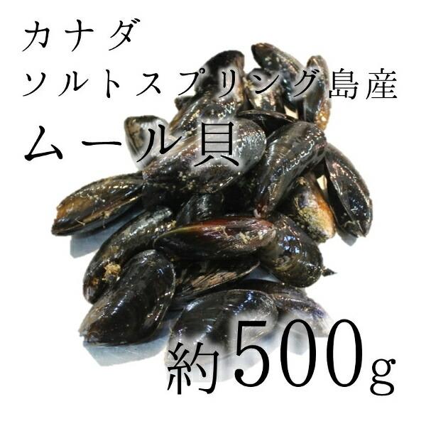 カナダ産ムール貝500g