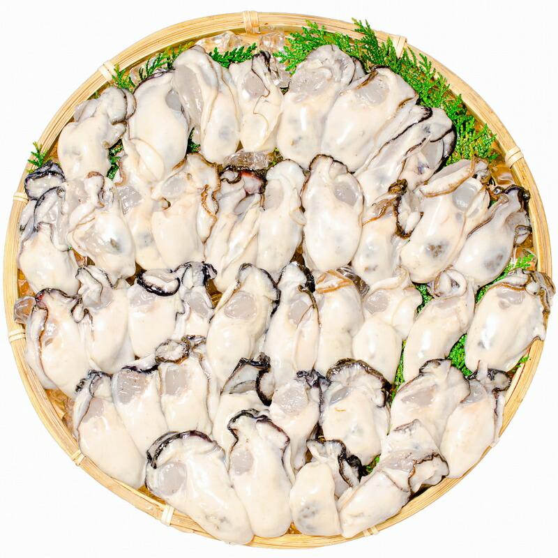 生牡蠣 ザル盛り