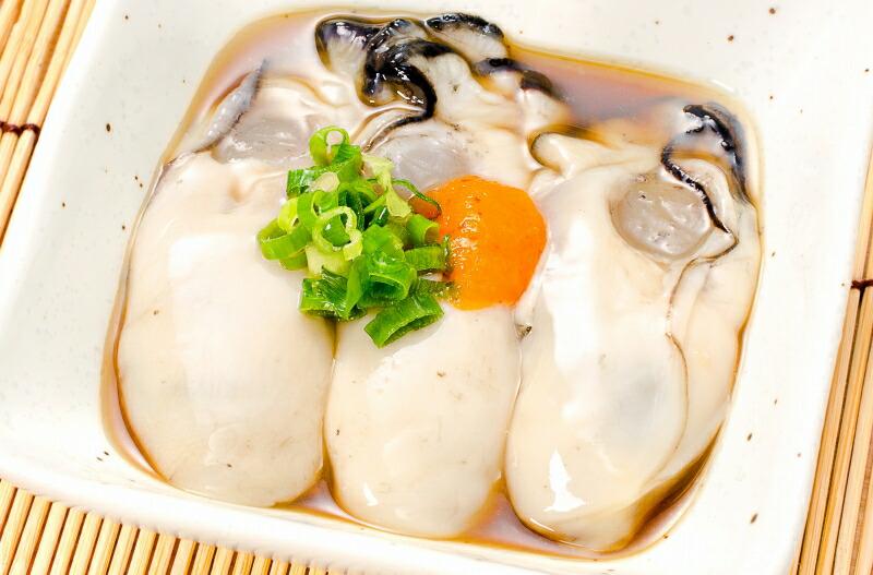 生牡蠣 ポン酢