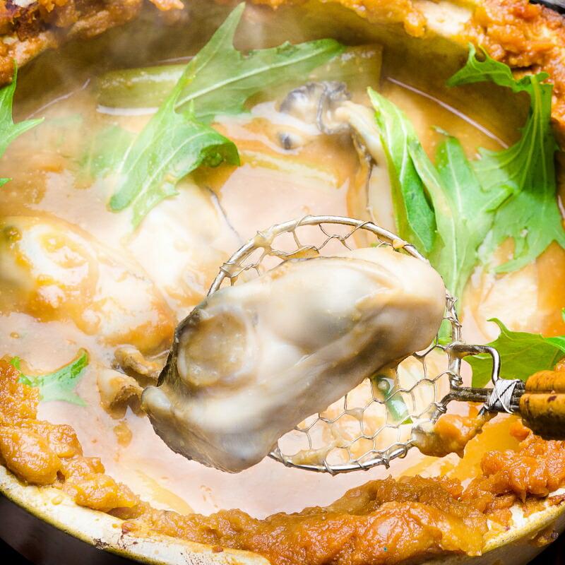 牡蠣の土手煮
