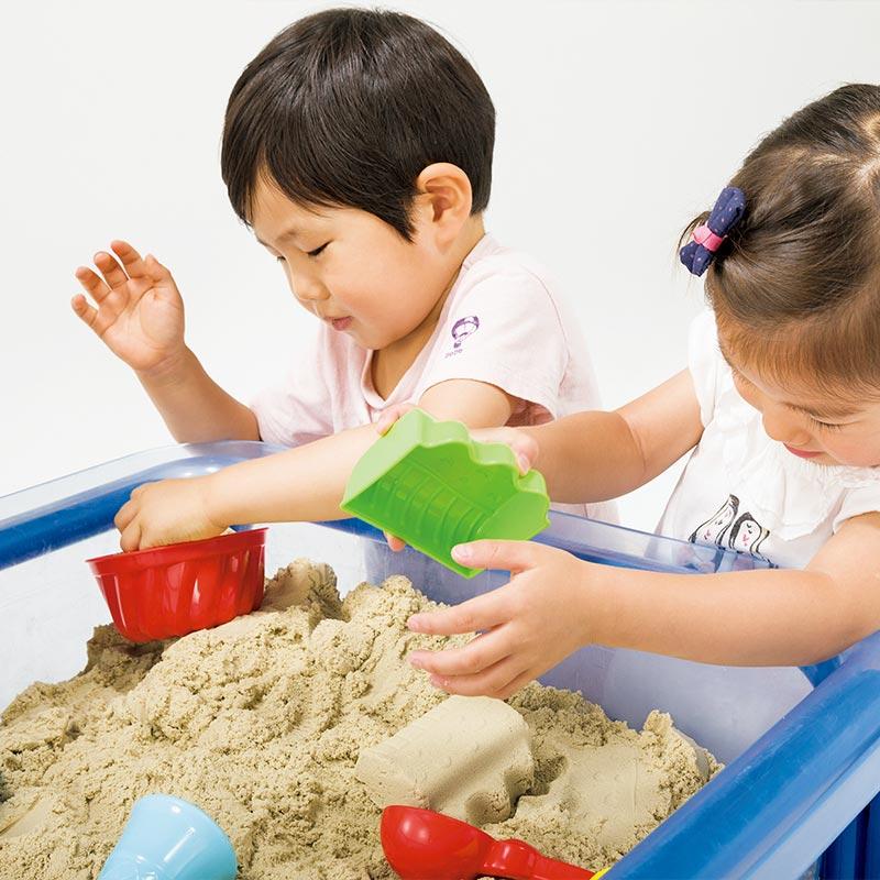 室内砂場遊び・モーションサンド
