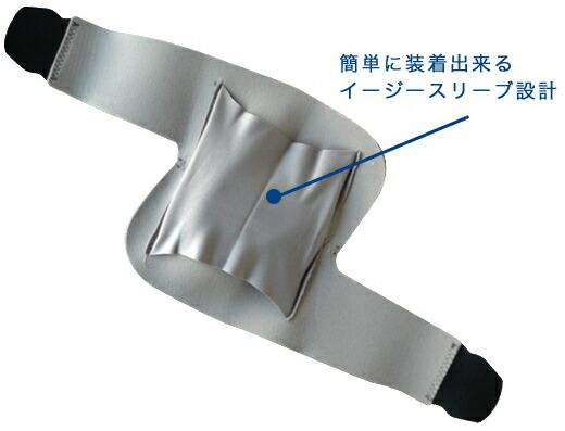 簡単に装着出来るイージースリーブ設計