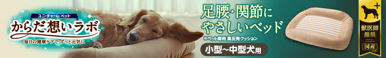 ユニチャーム ペット からだ想いラボ 足腰・関節にやさしいベッド