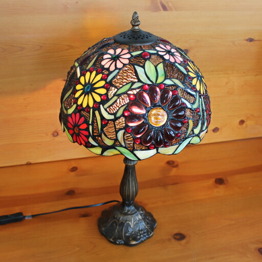 ステンドグラス ランプ 照明 アンティーク風