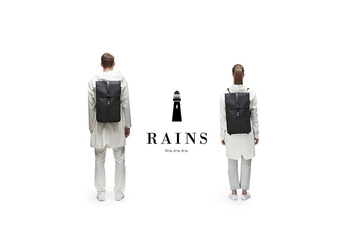 雨の日のオシャレはこれで決まり!デンマーク生まれのレイングッズブランド、「RAINS」