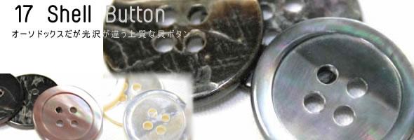 17型蝶貝ボタン