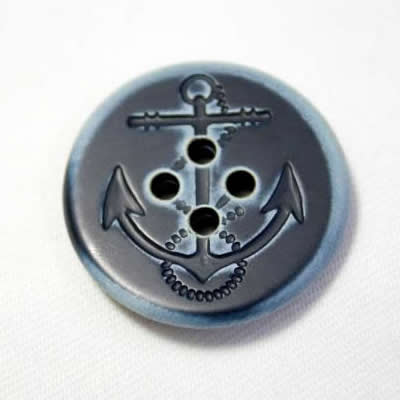 イカリメタルボタン