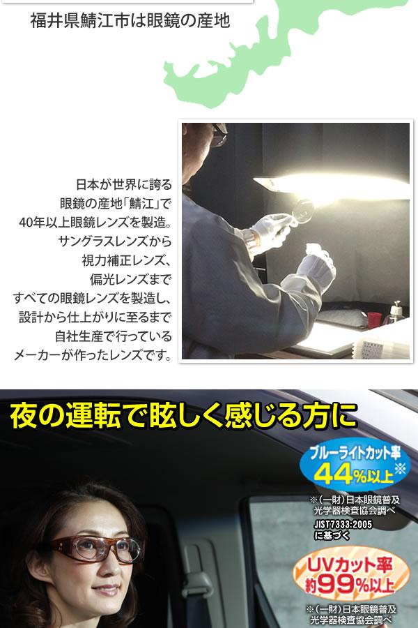 鯖江製レンズのオーバーグラスライトブロッカー「通販百貨 Happy Puppy」