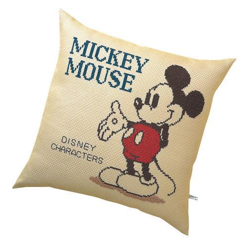 オリムパス 5881 ししゅうキット ディズニー ミッキーマウス「通販百貨 Happy Puppy」