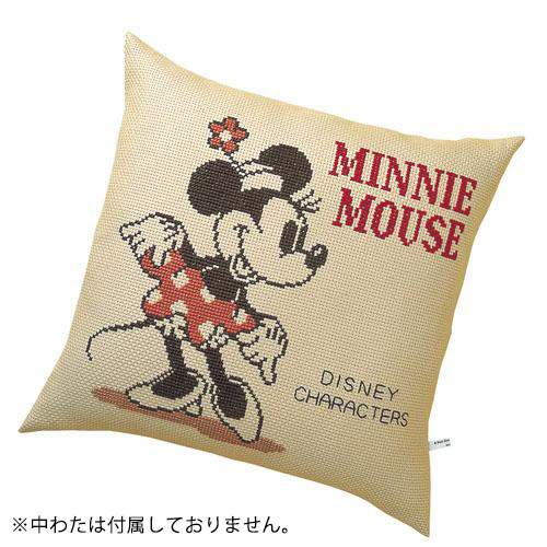 オリムパス 5882 ししゅうキット クッション ディズニー ミニーマウス「通販百貨 Happy Puppy」