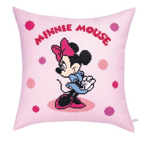 オリムパス 5995 ししゅうキット クッション ディズニー ミニーマウス・水玉「通販百貨 Happy Puppy」