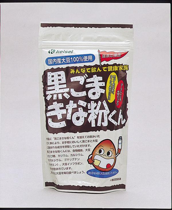 ケイセイ 黒ごまきな粉くん (400g)×5個 「通販百貨 Happy Puppy」