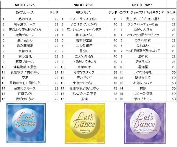 【送料無料・メーカー直送】 NKCD-7621〜7 歌謡曲編 レッツダンス