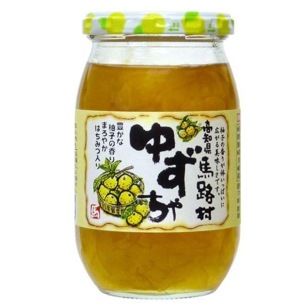 日本ゆずレモン 高知県馬路村ゆずちゃ(UMJ) 410g×12本 「通販百貨 Happy Puppy」