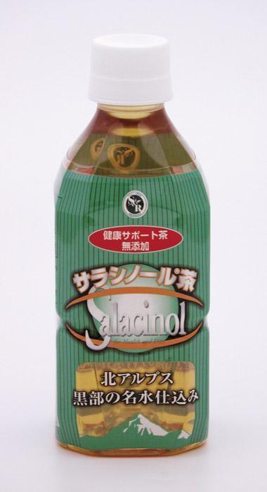 ジャパンヘルス サラシノール健康サポート茶 350ml×24本 「通販百貨 Happy Puppy」