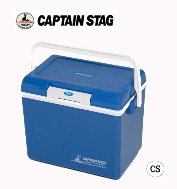 CAPTAIN STAG シエロ クーラーボックス14(ブルー) M-8175 「通販百貨 Happy Puppy」