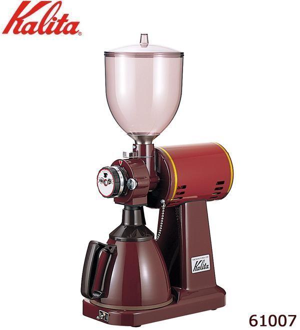 Kalita(カリタ) 業務用電動コーヒーミル ハイカットミル タテ型 61007「通販百貨 Happy Puppy」