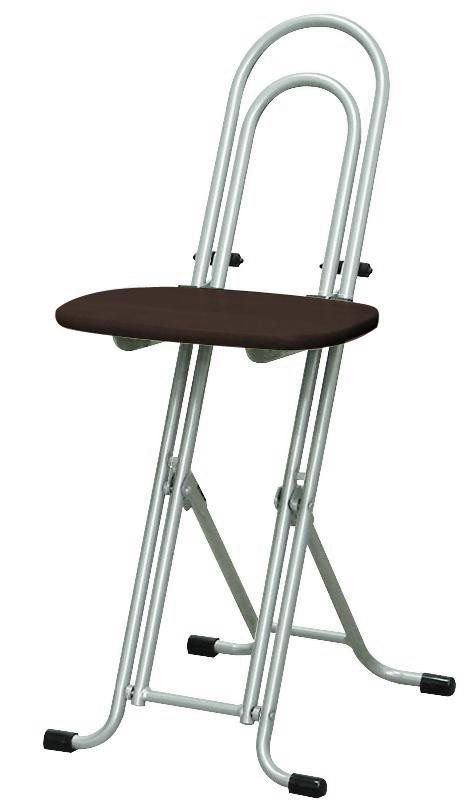 Incredible Renaiseikow Height Adjustable Flexible Folding Chair Best Hobby Chair Brown Silver Made In Japan Completed W 150Tad Gmtry Best Dining Table And Chair Ideas Images Gmtryco