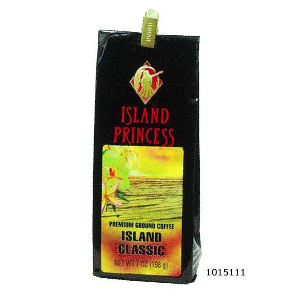 1015111 アイランドプリンセス プレミアムグラウンドコーヒー アイランドクラシック 198g×20袋「通販百貨 Happy Puppy」