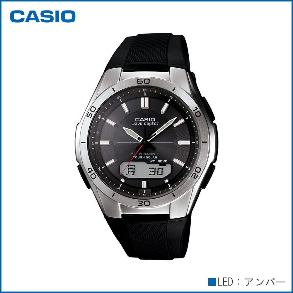CASIO カシオ wave ceptor ソーラーコンビネーション WVA-M640-1AJF 腕時計/電波/男性用/紳士用「通販百貨 Happy Puppy」