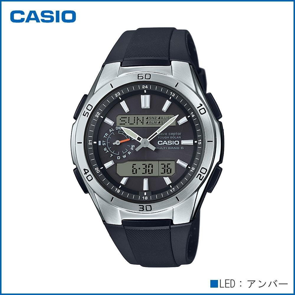 CASIO カシオ wave ceptor ソーラーコンビネーション WVA-M650-1AJF 腕時計/電波/男性用/紳士用「通販百貨 Happy Puppy」