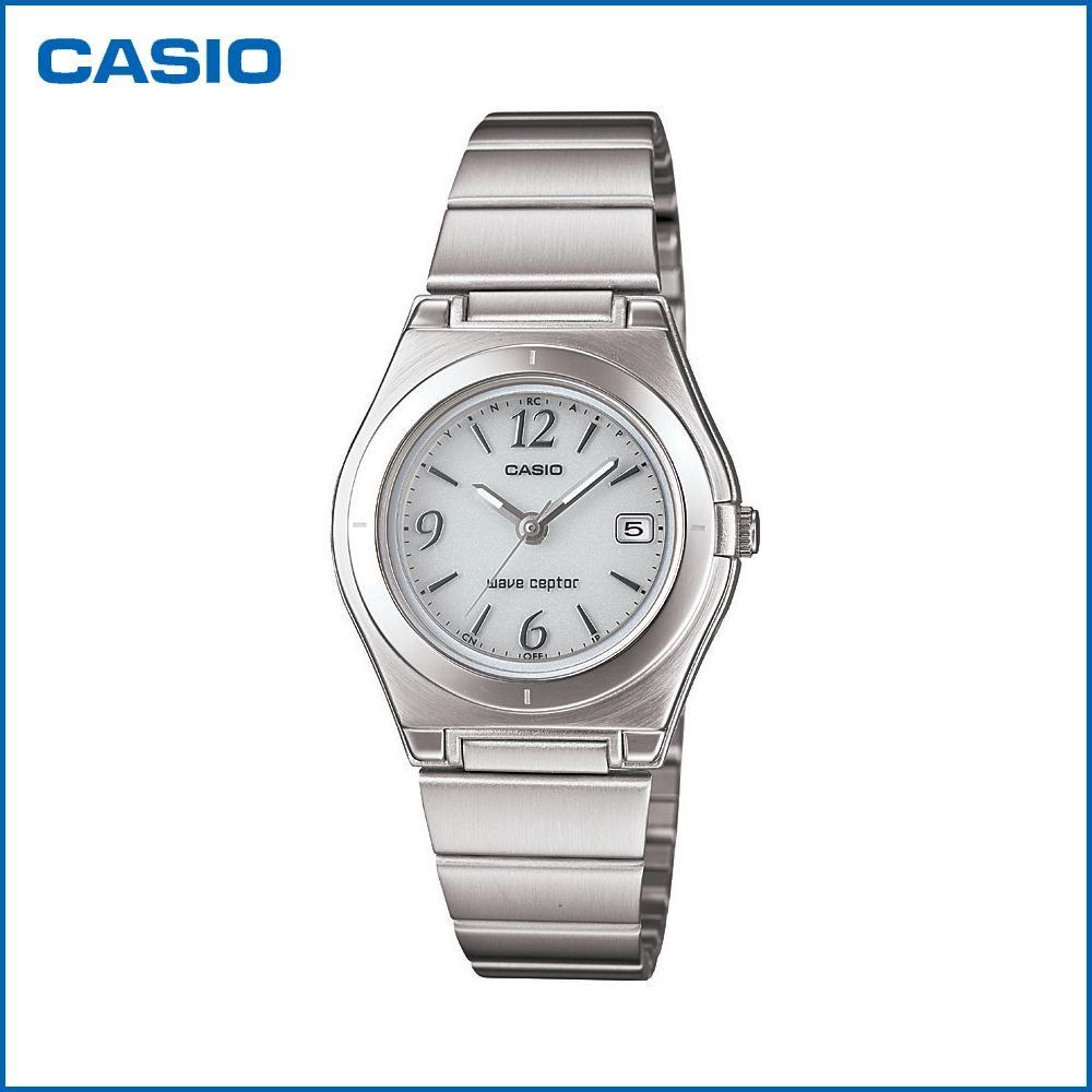 CASIO カシオ wave ceptor ソーラーアナログ LWQ-10DJ-7A1JF 腕時計/電波/女性用/婦人用 「通販百貨 Happy Puppy」