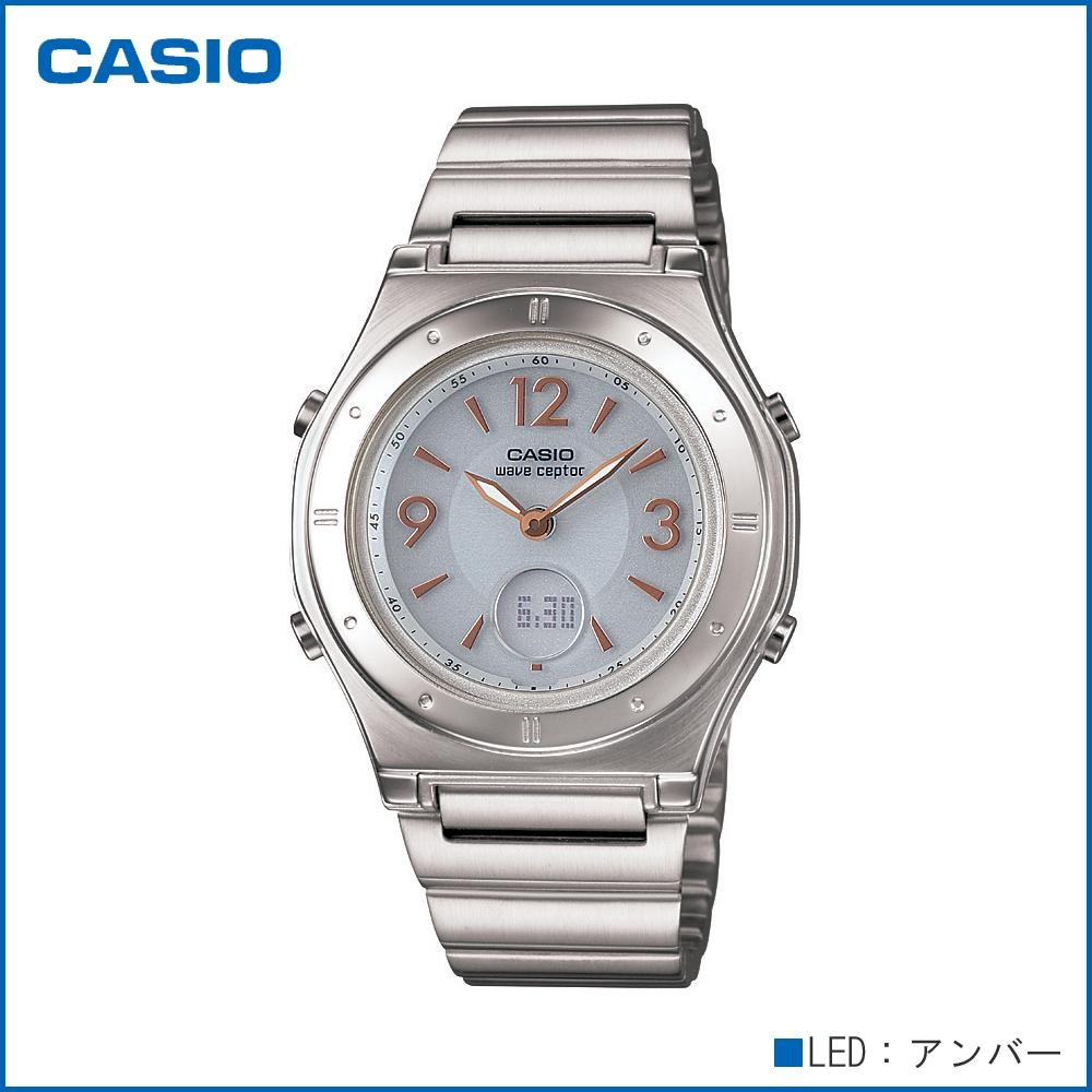 CASIO カシオ wave ceptor ソーラーコンビネーション LWA-M141D-7AJF 腕時計/電波/女性用/婦人用「通販百貨 Happy Puppy」