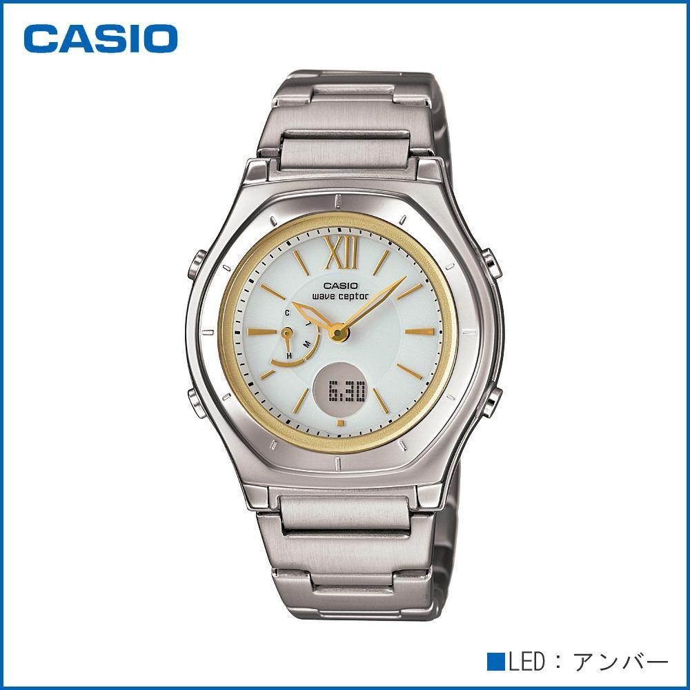 CASIO カシオ wave ceptor ソーラーコンビネーション LWA-M160D-7A2JF 腕時計/電波/女性用/婦人用 「通販百貨 Happy Puppy」