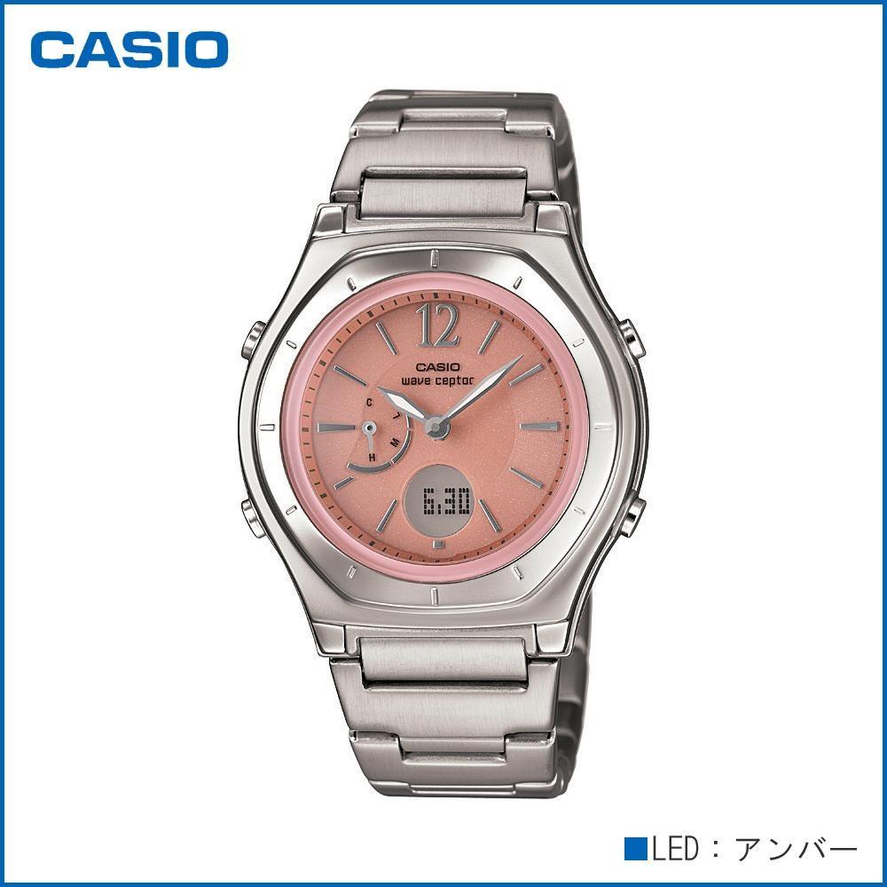 CASIO カシオ wave ceptor ソーラーコンビネーション LWA-M160D-4A1JF 腕時計/電波/女性用/婦人用「通販百貨 Happy Puppy」