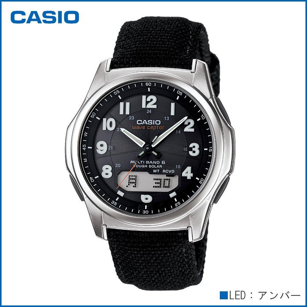CASIO カシオ wave ceptor ソーラーコンビネーション WVA-M630B-1AJF 腕時計/電波/男性用/紳士用「通販百貨 Happy Puppy」