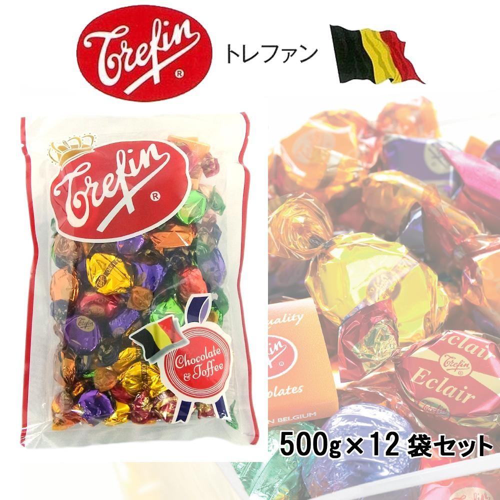 トレファン チョコレート&タフィ 500g×12袋セット「通販百貨 Happy Puppy」