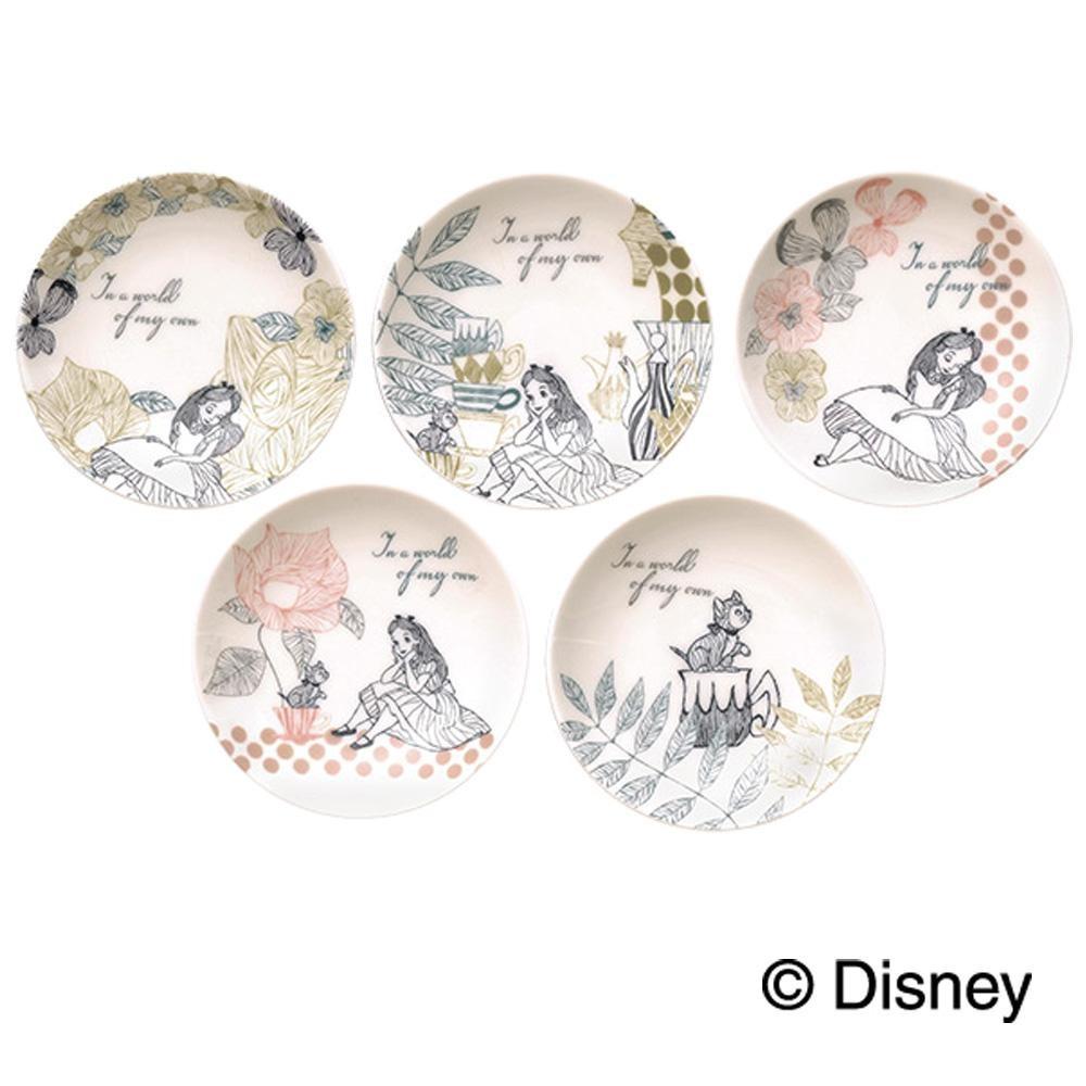 ディズニー ふしぎの国のアリス 小皿5枚セット 50150「通販百貨 Happy Puppy」