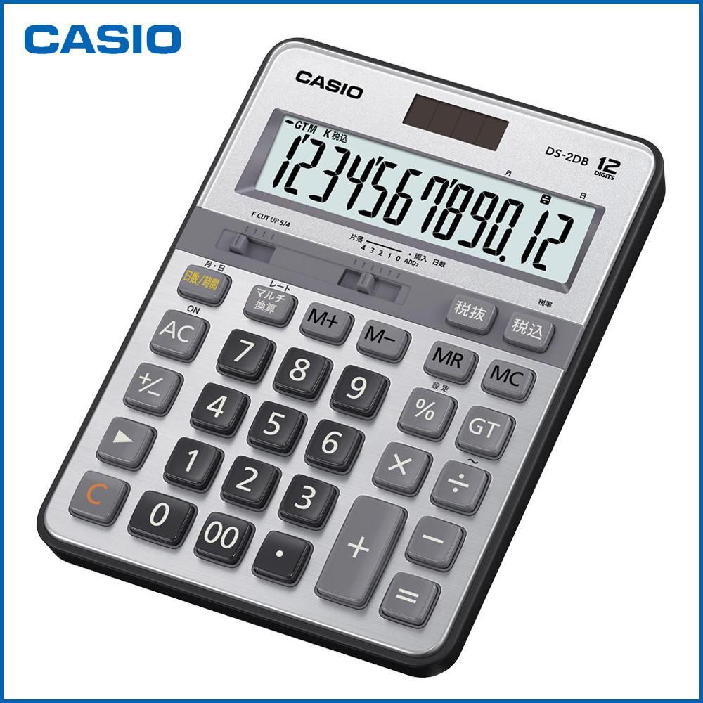 CASIO カシオ 本格実務電卓 DS-2DB「NET Asahi」