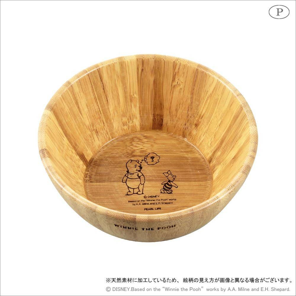 竹製ボウル(S) くまのプーさん MA-1629「通販百貨 Happy Puppy」