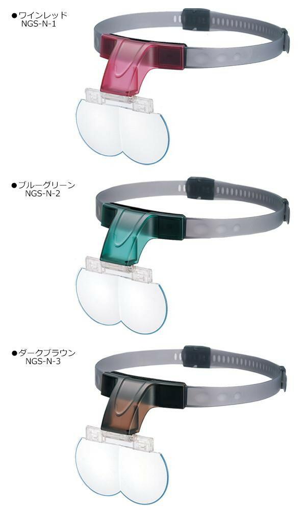 エッシェンバッハ プリズム・ビノ・コンフォート 眼鏡型ルーペ 1.5倍 1680-6