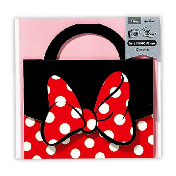 Hallmark ホールマーク Disney(ディズニー) ギフトアルバム(セイチーズ!) ミニー バッグ 6セット EAL-715-854「NET Asahi」