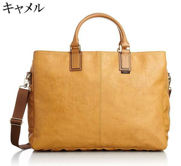 日本製 EVERWIN(エバウィン) ビジネスバッグ トートバッグ ジェノバ 21597「通販百貨 Happy Puppy」