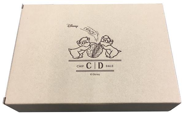 ディズニー チップ&デール ペアオーバルプレート 50352「通販百貨 Happy Puppy」
