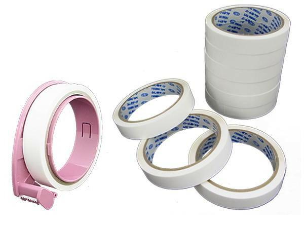 仁礼工業 ふしぎテープ(巾18mm×50m巻)×10個+業務用ディスペンサー1個セット MC18W-50-10V「NET Asahi」