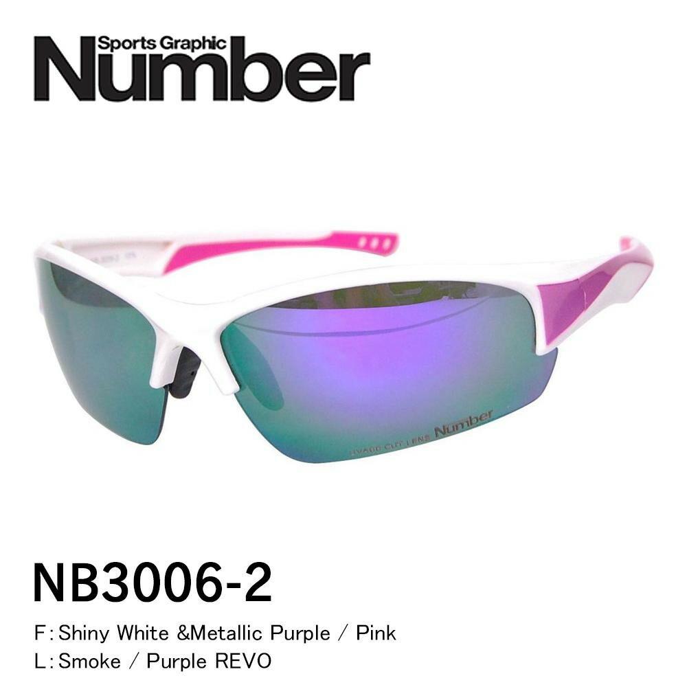 Number ナンバー ファッショングラス NB3006-2「通販百貨 Happy Puppy」
