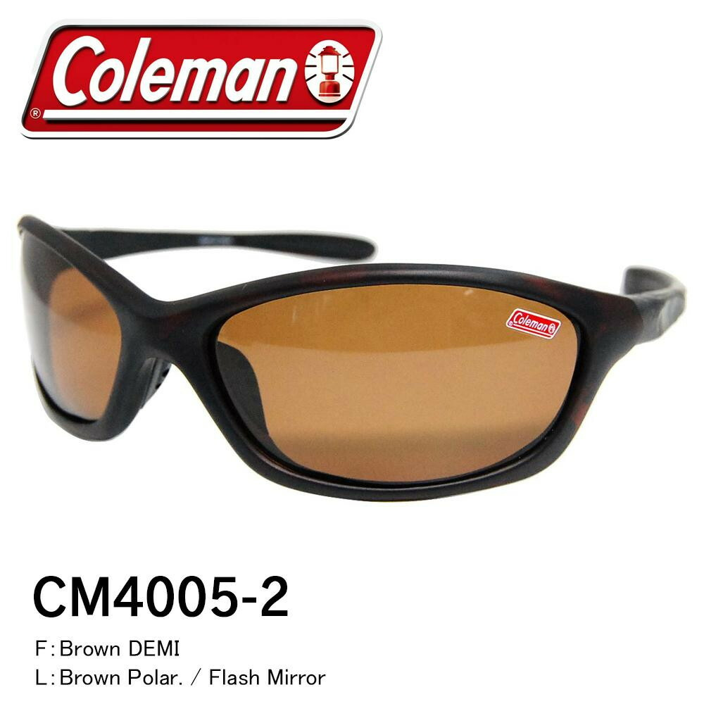 Coleman コールマン ファッショングラス CM4005-2「通販百貨 Happy Puppy」