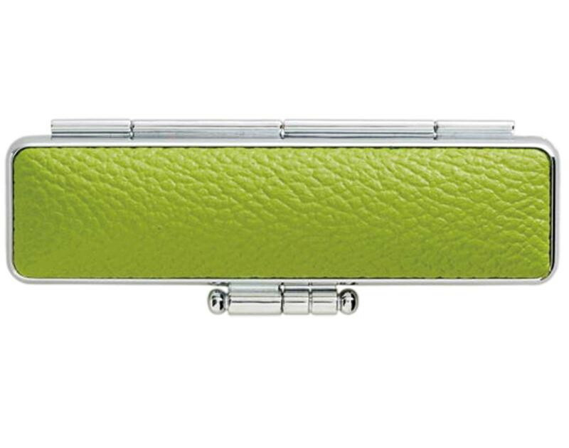 印鑑ケース PLカラーもみ 15×60用 グリーン CA-P1508「NET Asahi」