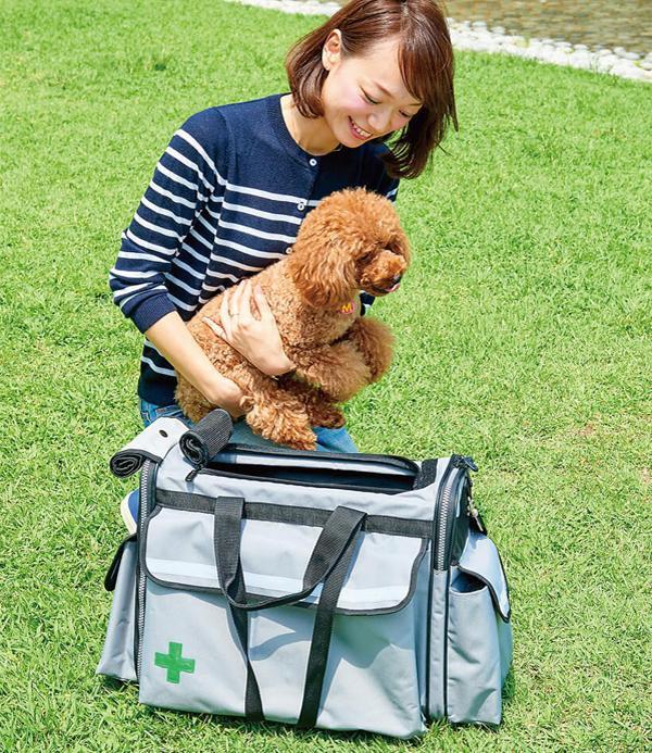防災用ペットキャリー SOSペットバッグ「通販百貨 Happy Puppy」