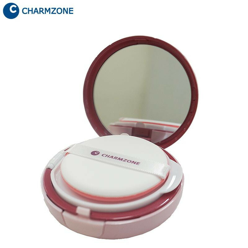 Korean Cosmetic Charm Zone Ge Cover Cushion Foundation Special Set Geccfd