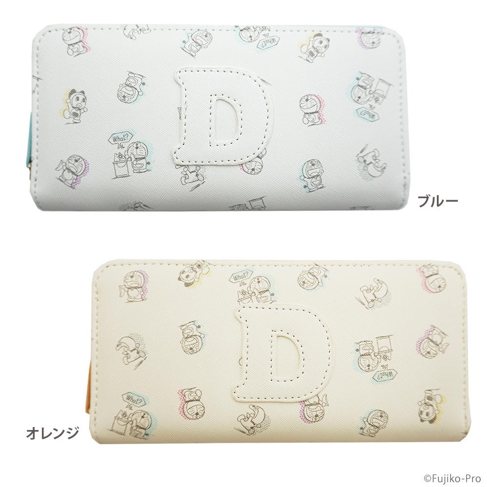 I'm Doraemon ドラえもん ラウンド長財布 DRA6-11「通販百貨 Happy Puppy」