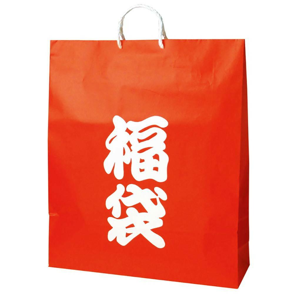 ササガワ タカ印 50-5642 手提げバッグ 福袋 超特大 50枚「NET Asahi」
