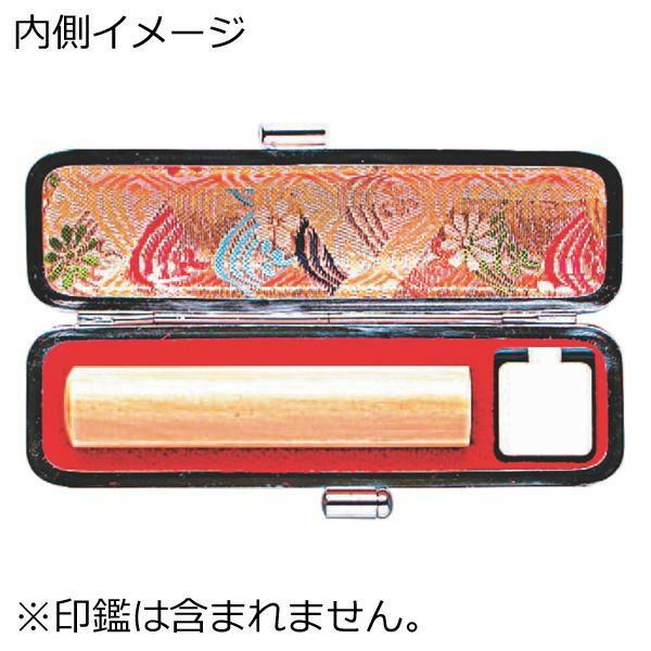 印鑑ケース かもがわ 12×60用 赤 TSK-67464「NET Asahi」