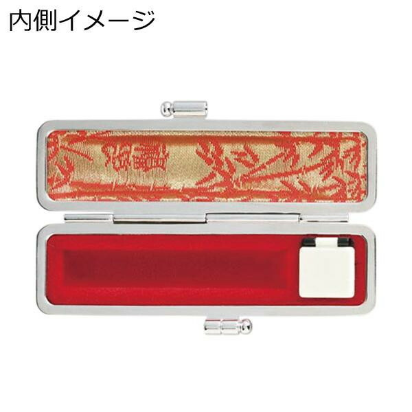 印鑑ケース 赤ローケツ 15×60用 芝桜 IB-AR1501「NET Asahi」