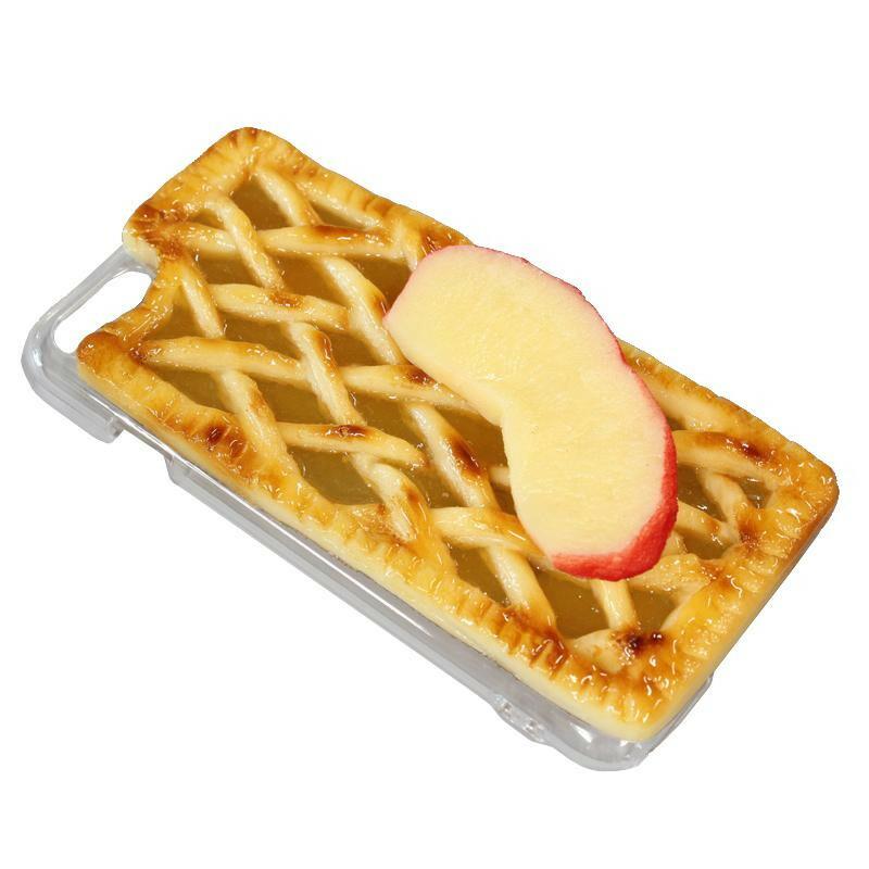 日本職人が作る 食品サンプル iPhone7/8ケース アップルパイ IP-718「通販百貨 Happy Puppy」