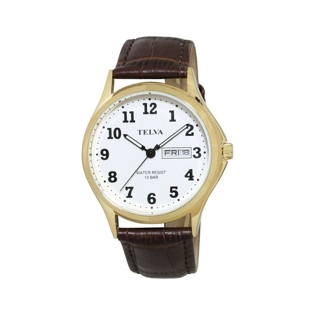 TELVA アナログ 腕時計(M) TE-AM001-WTG「通販百貨 Happy Puppy」